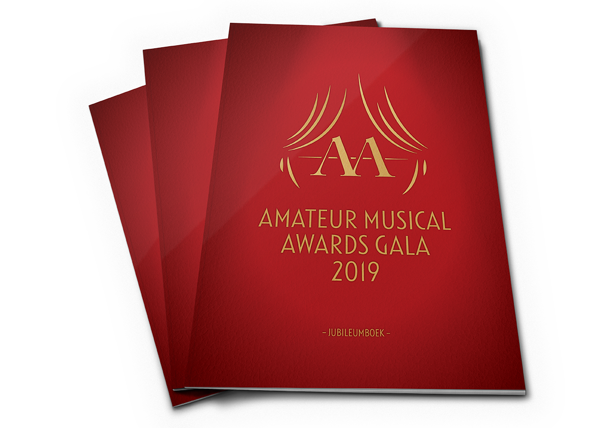 Amateur Musical Awards jubileumboeken