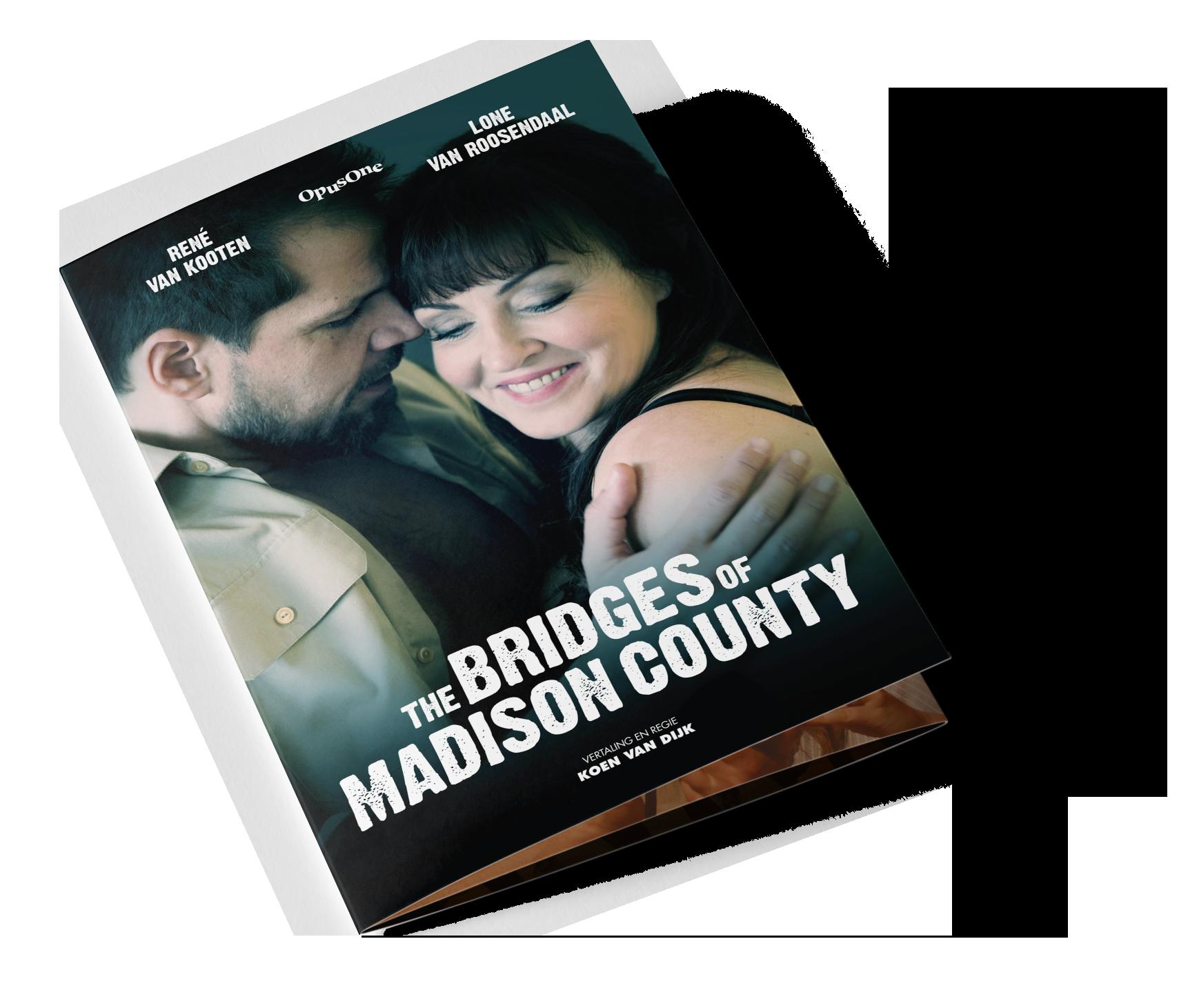 The Bridges of Madison County programmafolder