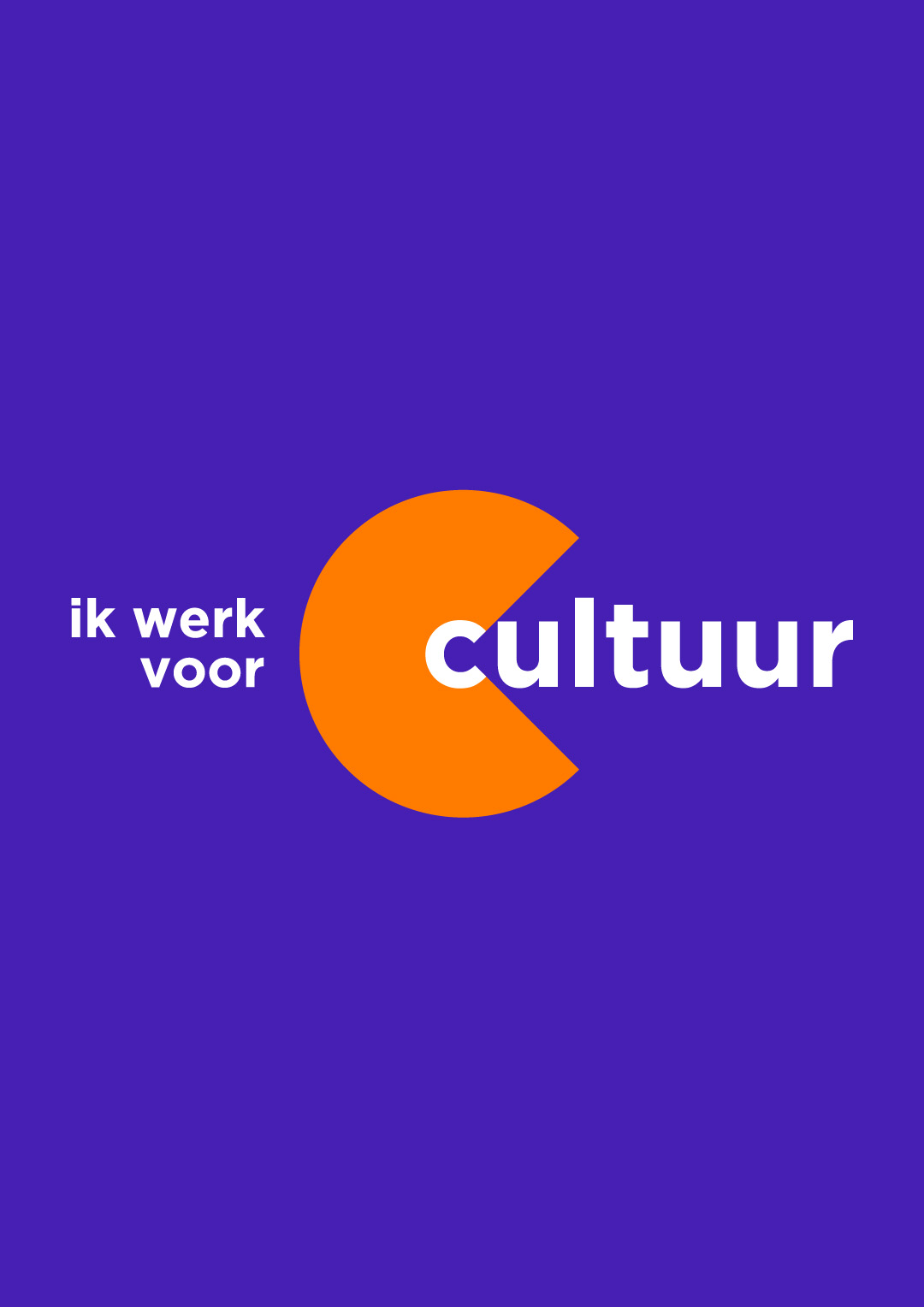 Ik Werk voor Cultuur artwork