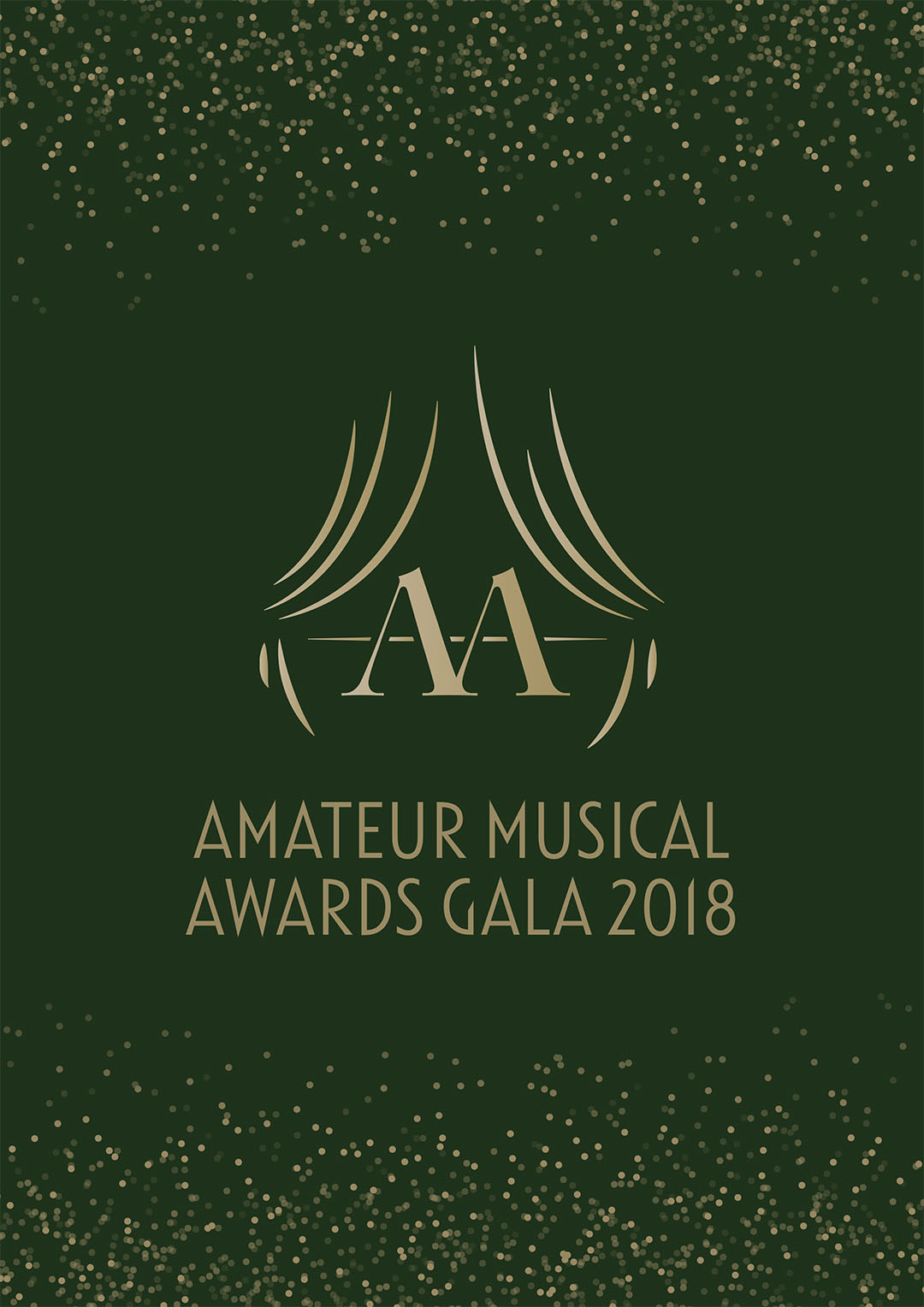Amateur Musical Awards 2018 artwork